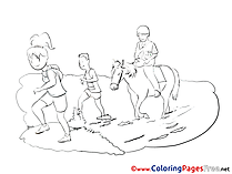 Stroll Kids download Coloring Pages