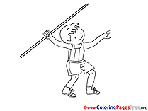 Unicycle Coloring Sheets download free