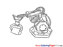 Manipulator free printable Coloring Sheets