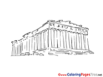 Columnes Coloring Pages for free
