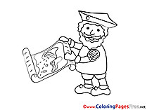 Map printable Coloring Pages for free