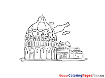 Monument free printable Coloring Sheets