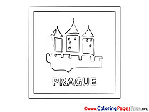 Prague download printable Coloring Pages