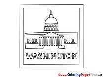 Washington Kids download Coloring Pages