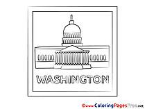 Washington Kids download Coloring Pages