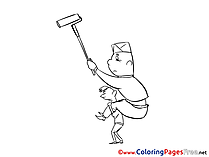 For Children free Coloring Pages Painter