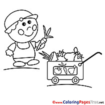 Vendor Coloring Sheets download free