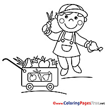 Vendor download printable Coloring Pages